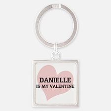 DANIELLE Square Keychain