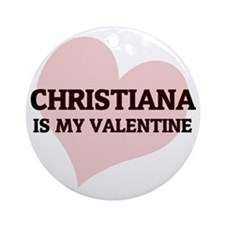 CHRISTIANA Round Ornament
