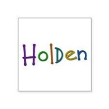 Holden Play Clay Square Sticker