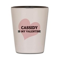 CASSIDY Shot Glass