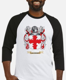 Laurent Coat of Arms - Family Crest Baseball Jerse