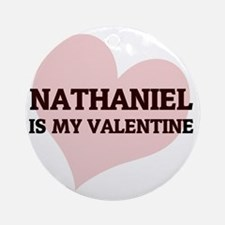 NATHANIEL Round Ornament