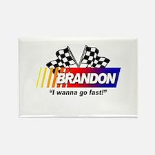 Racing - Brandon Rectangle Magnet