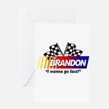 Racing - Brandon Greeting Cards (Pk of 10)