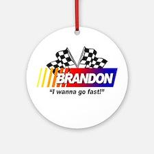 Racing - Brandon Ornament (Round)