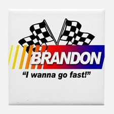 Racing - Brandon Tile Coaster