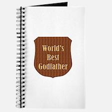 World's Best Godfather (plaque) Journal
