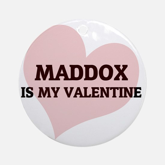 MADDOX Round Ornament