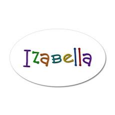 Izabella Play Clay Wall Decal