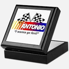 Racing - Antonio Keepsake Box