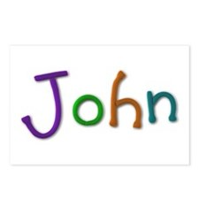 John Play Clay Postcards 8 Pack