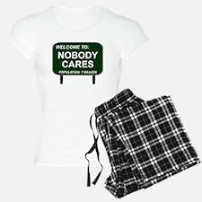 Welcome To Nobody Cares Pajamas