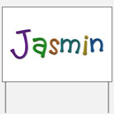 Jasmin Play Clay Yard Sign