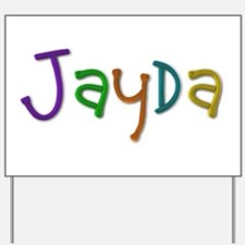 Jayda Play Clay Yard Sign