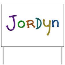 Jordyn Play Clay Yard Sign