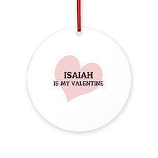 ISAIAH Round Ornament