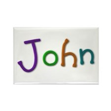 John Play Clay Rectangle Magnet 10 Pack