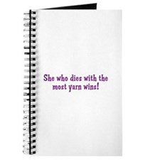 Funny Yarn Quote Journal