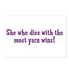 Funny Yarn Quote Postcards (Package of 8)