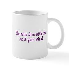 Funny Yarn Quote Mug