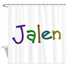 Jalen Play Clay Shower Curtain