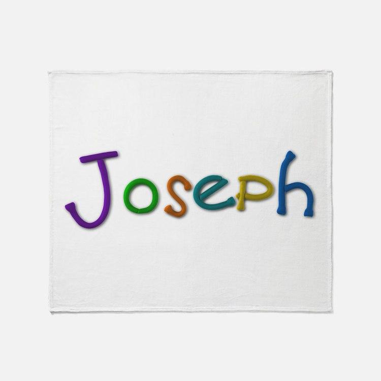 Joseph Play Clay Throw Blanket