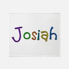 Josiah Play Clay Throw Blanket