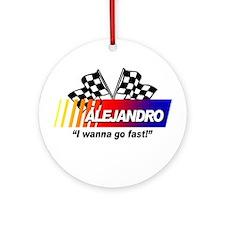 Racing - Alejandro Ornament (Round)