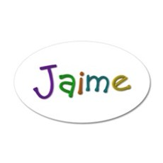 Jaime Play Clay Wall Decal