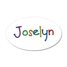 Joselyn Play Clay 20x12 Oval Wall Decal