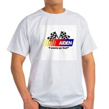 Racing - Aiden Ash Grey T-Shirt
