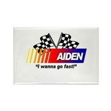 Racing - Aiden Rectangle Magnet