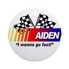 Racing - Aiden Ornament (Round)