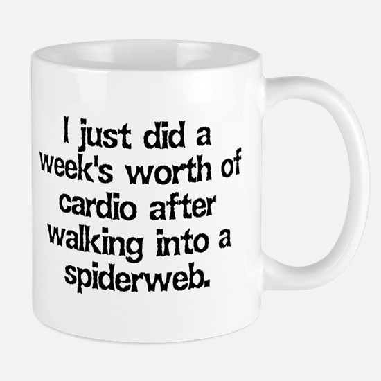 Spiderweb Cardio Mug