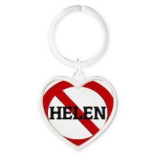 HELEN Heart Keychain