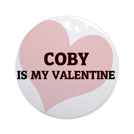 COBY Round Ornament