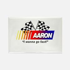 Racing - Aaron Rectangle Magnet