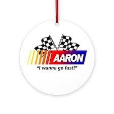 Racing - Aaron Ornament (Round)