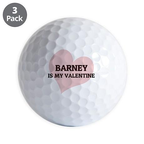 BARNEY_ Golf Balls