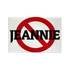 JEANNIE Rectangle Magnet