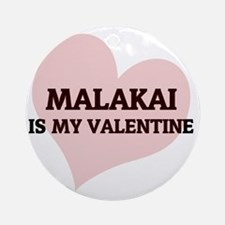 Malakai Round Ornament