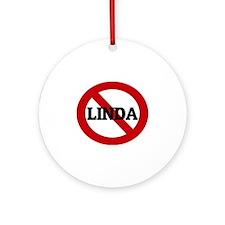LINDA Round Ornament