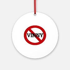 VINNY Round Ornament