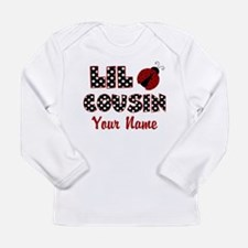 Little Cousin Ladybug Long Sleeve T-Shirt