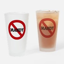 MANDY Drinking Glass