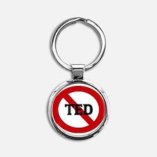 TED Round Keychain