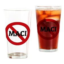 MACI Drinking Glass