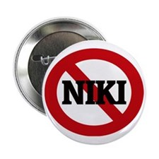 "NIKI 2.25"" Button"