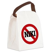 NIKI Canvas Lunch Bag