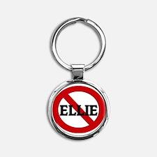 ELLIE Round Keychain